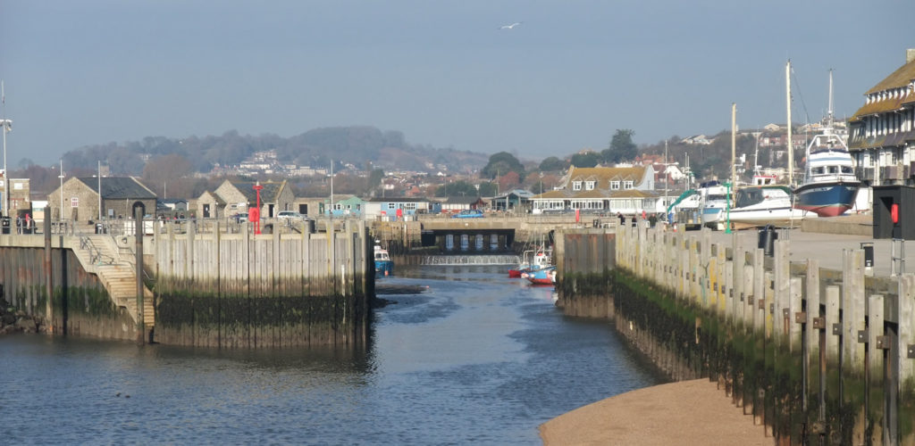West bay harbour and pier